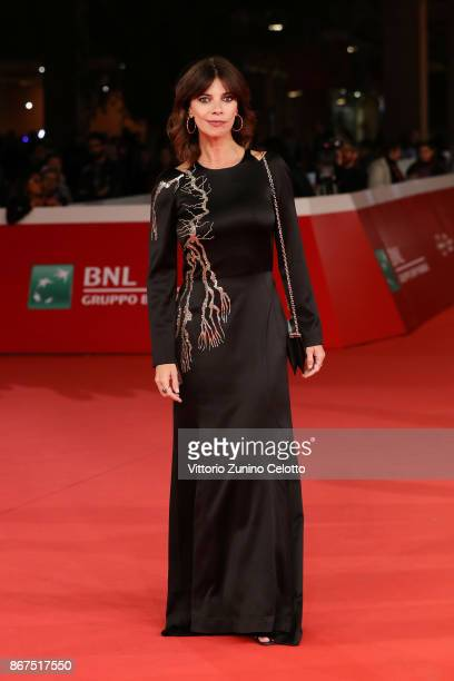 Maribel Verdu walks a red carpet for 'Abracadabra' during the 12th Rome Film Fest at Auditorium Parco Della Musica on October 28 2017 in Rome Italy