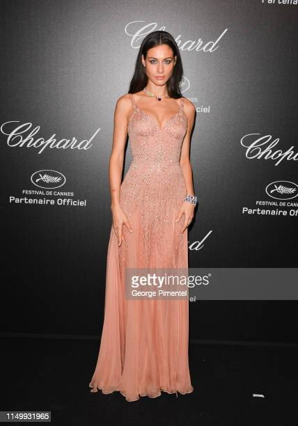 Marica Pellegrinelli attends the Chopard Party during the 72nd annual Cannes Film Festival on May 17 2019 in Cannes France