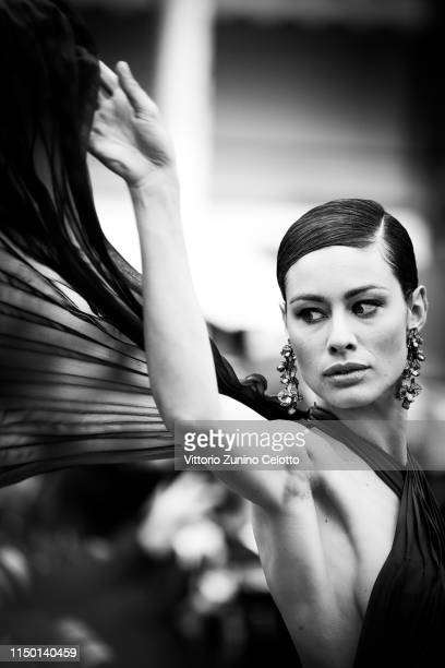 Marica Pellegrinelli attends the screening of Les Plus Belles Annees D'Une Vie during the 72nd annual Cannes Film Festival on May 18 2019 in Cannes...