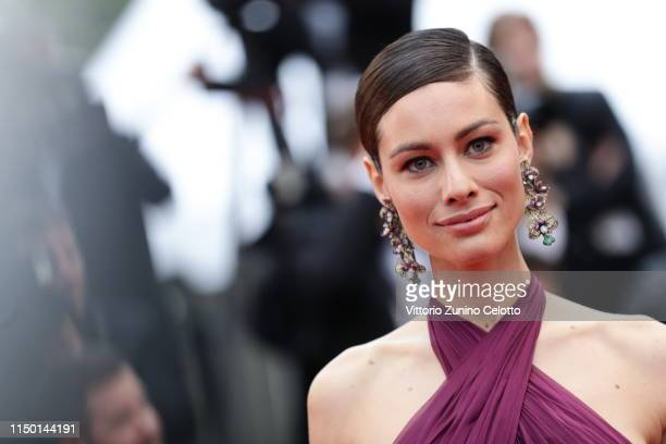 """Marica Pellegrinelli attends the screening of """"Les Plus Belles Annees D'Une Vie"""" during the 72nd annual Cannes Film Festival on May 18, 2019 in..."""