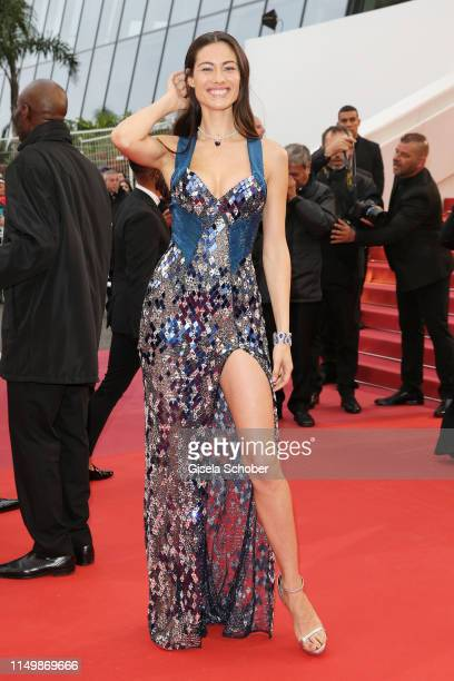 Marica Pellegrinelli attends the screening of Pain And Glory during the 72nd annual Cannes Film Festival on May 17 2019 in Cannes France
