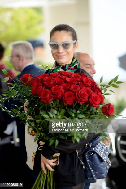 Marica Pellegrinelli during the 72nd annual Cannes Film Festival at on May 18 2019 in Cannes France