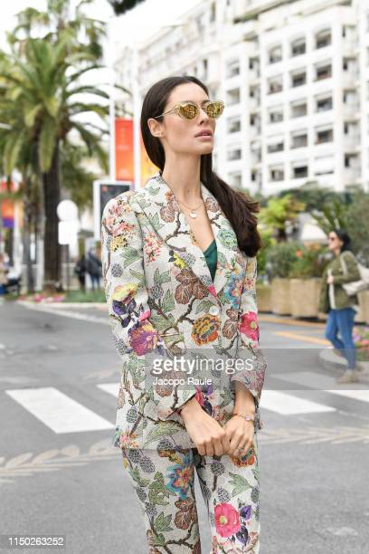 Marica Pellegrinelli is seen during the 72nd annual Cannes Film Festival at on May 19 2019 in Cannes France