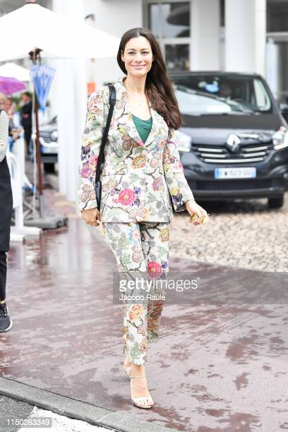 Marica Pellegrinelli is seen during the 72nd annual Cannes Film Festival at on May 19, 2019 in Cannes, France.