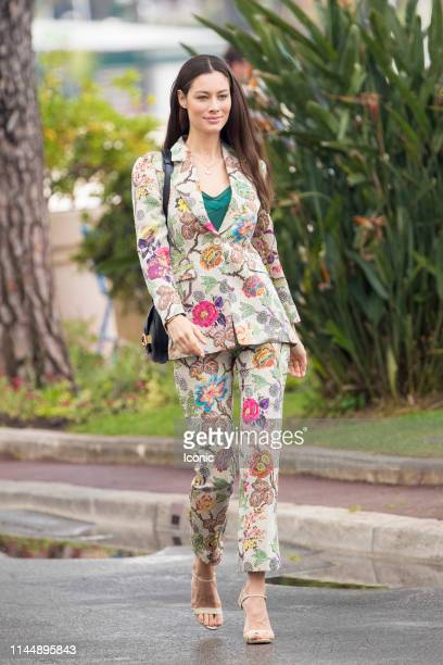 Marica Pellegrinelli is seen during the 72nd annual Cannes Film Festival on May 19 2019 in Cannes France