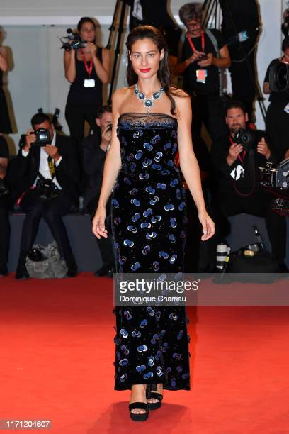 """Marica Pellegrinelli walks the red carpet ahead of the """"Seberg"""" screening during during the 76th Venice Film Festival at Sala Grande on August 30,..."""