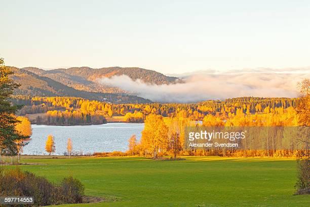 Maridalen in autumn