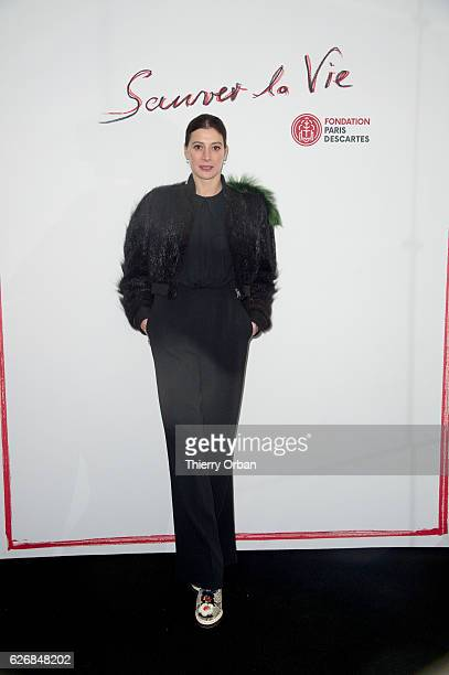 Marie Agnes Gilot attends the diner 'sauver la vie' Eric Pfrunder Hosts 'Sauver La Vie' Diner for Paris Descartes Fondation at Pavillon Ledoyen on...