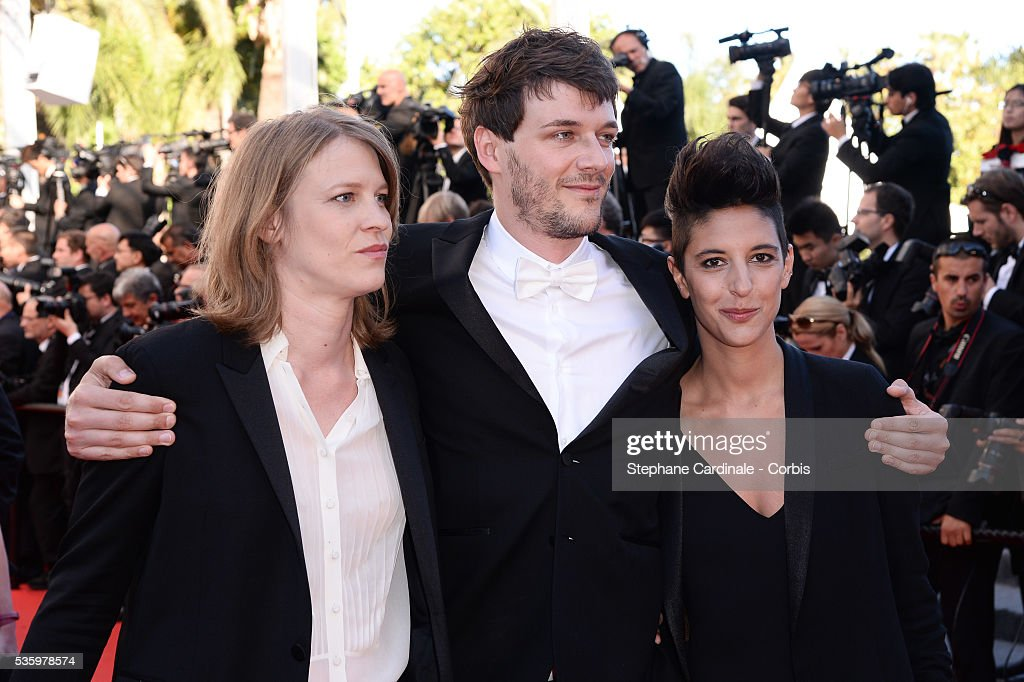 Marie Amachoukeli , Samuel Theis and Claire Burger at the Closing ceremony and 'A Fistful of Dollars' screening during 67th Cannes Film Festival