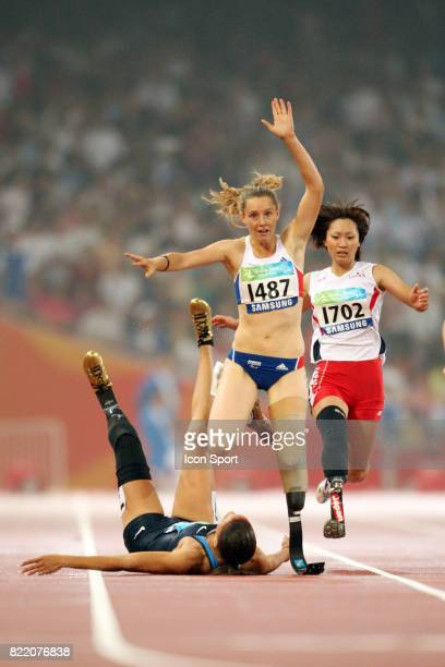 Marie Amelie LE FUR 200 metres Atheltisme Jeux Paralympiques 2008 Pekin