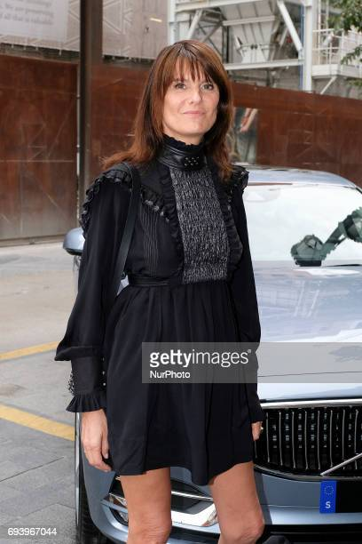Marie Amelie Sauve attend the inauguration of the Exhibition Paco Rabanne Royal Academy of Fine Arts of San Fernando of Madrid Spain 8 June 2017