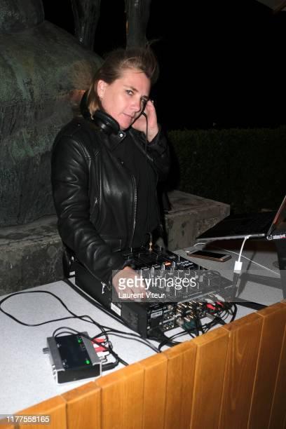 Marie Amelie Seigner attends the Maison Nathalie Blanc Partyon September 27 2019 in Paris France