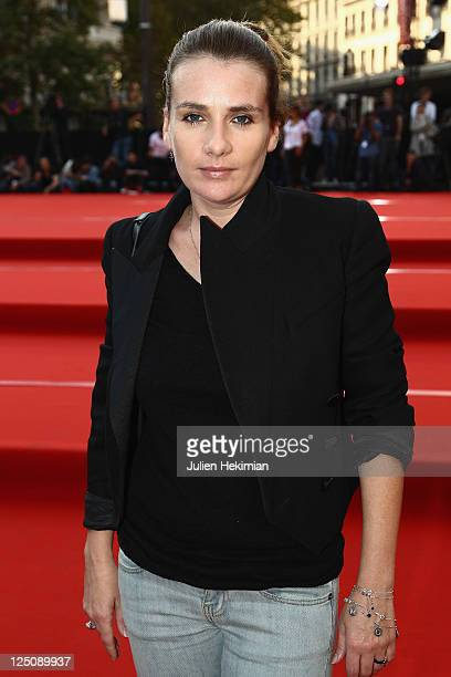 Marie Amelie Seigner attends the World Biggest Fashion Show at Galeries Lafayette on September 15 2011 in Paris France