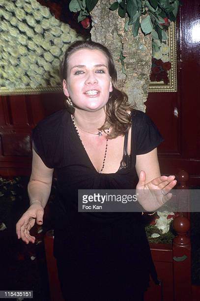 Marie Amelie Seigner during Mumm's Bubbles and Roses Party April 24 2006 at Club Castel in Paris France