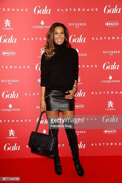Marie Amière attends the GALA Christmas Shopping Night 2016 at Alsterhaus on December 1 2016 in Hamburg Germany