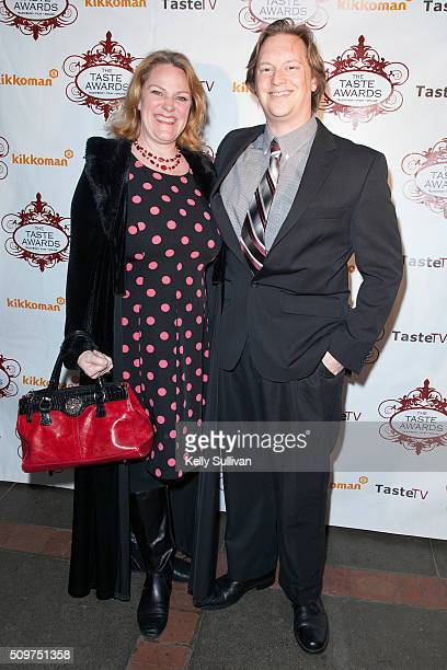 Marie and Christopher Greyson arrive at the 7th Annual Taste Awards at the Castro Theatre on February 11 2016 in San Francisco California