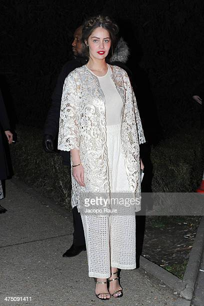 3fec64c081d1 Marie Ange Casta attends the HM show as part of the Paris Fashion Week  Womenswear Fall