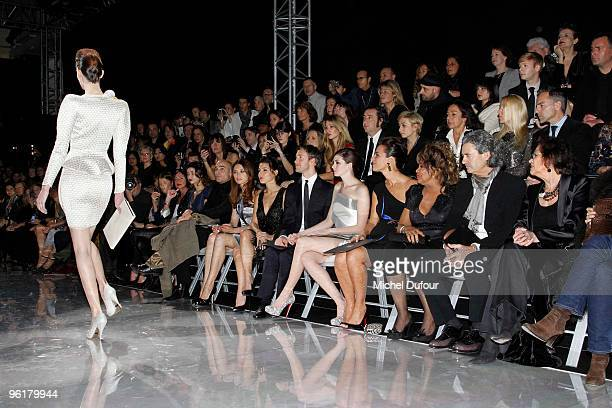 Marie Ange Casta Jean Marc Barr Olga Kurylenko Elsa Pataky Adam Schulman Anne Hathaway Roberta Armani Tina Turner guest and Claudia Cardinale attend...
