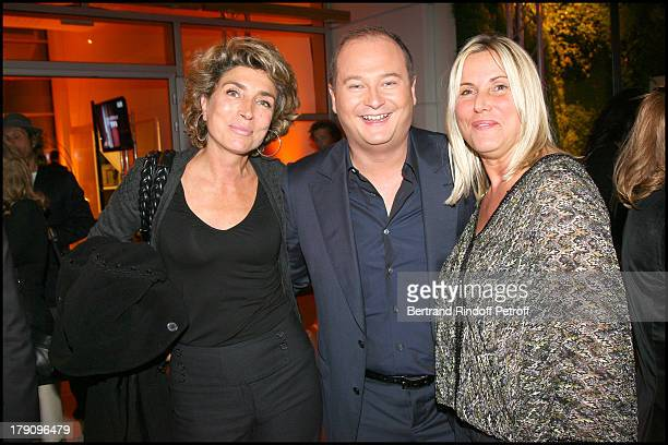 Marie Ange Nardi Sebastien Cauet and Sophie Favier at Press Conference For On Se Retrouve Sur TF1