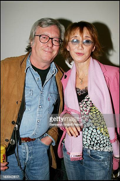 Marie Anne Chazel and Jean Jacques Peroni at Le Triomphe De Laurent Gerra At Olympia In Paris