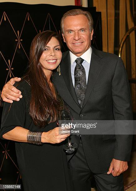 Marie Antoinette and Dr Andrew Ordon attend A Season of Giving for Surgical Friends Foundation event at The Mosaic Hotel on November 4 2010 in...