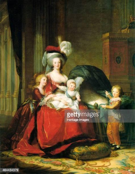 Marie Antoinette and her children' 1787 VigéeLebrun Marie Louise Elisabeth Found in the collection of the Musée National du Château de Versailles et...