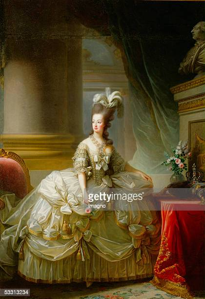 Marie Antoinette Archduchess of Austria Queen of France Daughter of Maria Theresia Canvas by ElisabethLouise VigeeLe Brun [Marie Antoinette...