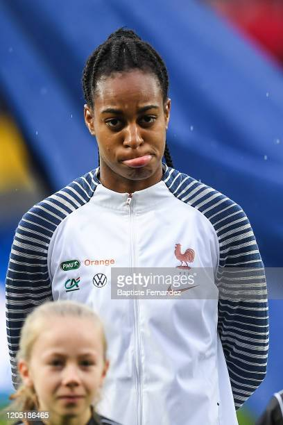 Marie Antoinette KATOTO of France during the Tournoi de France International Women's soccer match between France and Canada on March 4 2020 in Calais...
