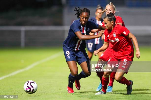 Marie Antoinette katoto of Paris SG during the Women's French Cup match between Paris Saint Germain and Bayern Munchen on August 6 2019 in Colomiers...