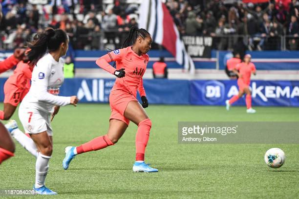 Marie Antoinette KATOTO of PSG during the Division 1 match between PSG and Montpellier on December 7 2019 in Paris France