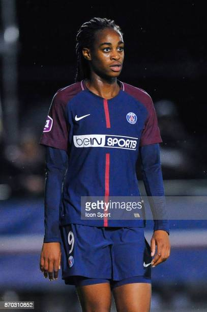 Marie Antoinette Katoto of PSG during the French Women's Division 1 match between Paris Saint Germain and Montpellier on November 4 2017 in Paris...