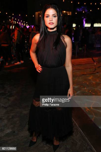 Marie Avgeropoulos at Entertainment Weekly's annual ComicCon party in celebration of ComicCon 2017 at Float at Hard Rock Hotel San Diego on July 22...