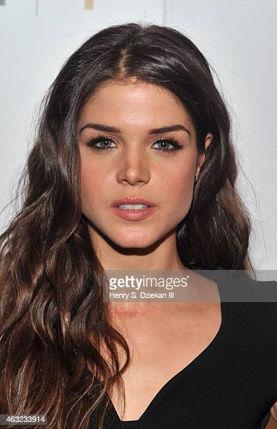 Marie Avgeropoulos attends E 'Fashion Police' and NYLON kickoff New York Fashion Week with a Fifty Shades of Fashion event in celebration of the...