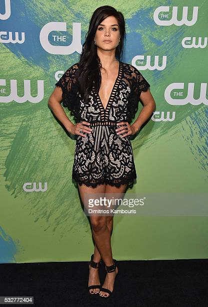 Marie Avgeropoulos attends the CW Network's 2016 New York Upfront Presentation at The London Hotel on May 19 2016 in New York City