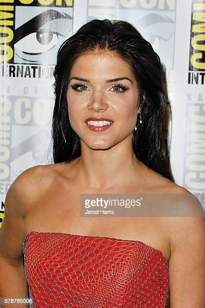 Marie Avgeropoulos attends the media panel for 'The 100' at ComicCon International on July 22 2016 in San Diego California