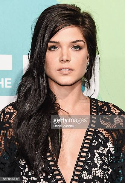 Marie Avgeropoulos of the series 'The 100' attends The CW Network's 2016 New York Upfront at The London Hotel on May 19 2016 in New York City