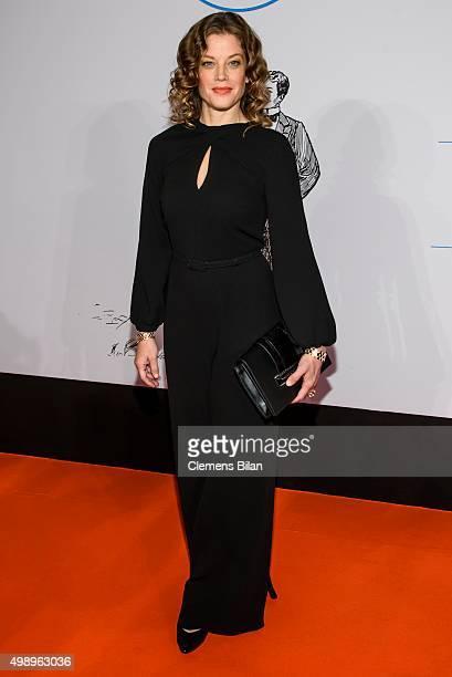 Marie Baeumer attends the Bundespresseball 2015 at Hotel Adlon on November 27 2015 in Berlin Germany