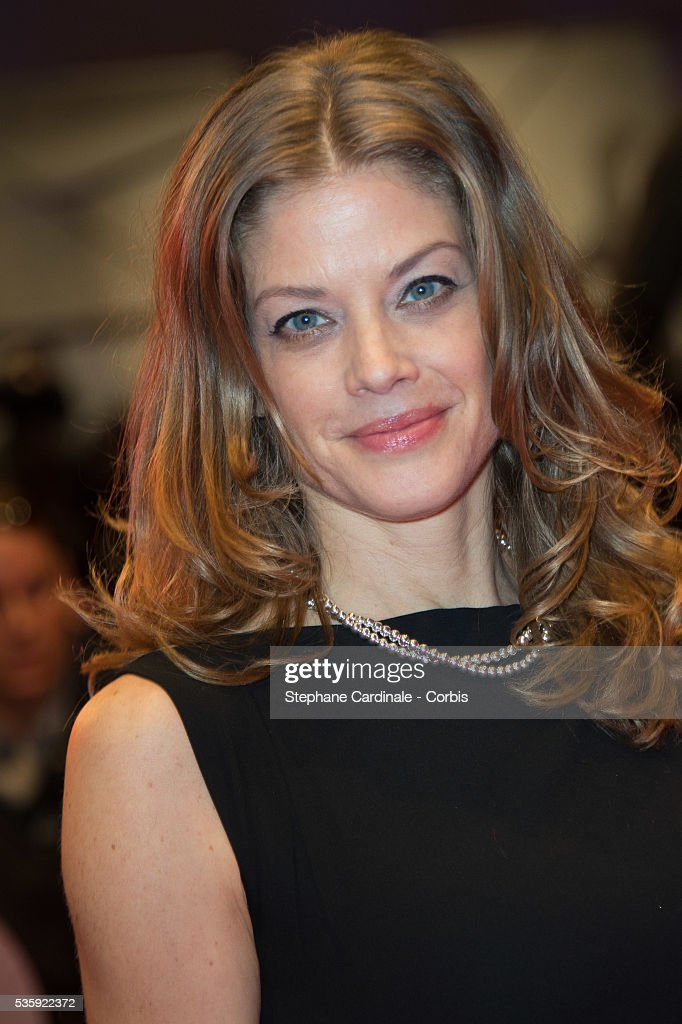 Marie Baeumer attends 'The Grand Budapest Hotel' Premiere and opening ceremony during the 64th Berlinale International Film Festival, in Berlin, Germany.