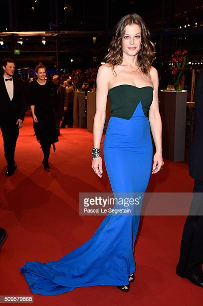 Marie Baeumer attends the 'Hail Caesar' premiere during the 66th Berlinale International Film Festival Berlin at Berlinale Palace on February 11 2016...