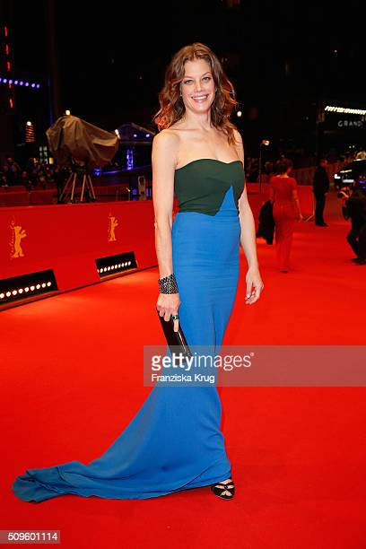Marie Baeumer attends the opening party of the 66th Berlinale International Film Festival Berlin at Berlinale Palace on February 11 2016 in Berlin...