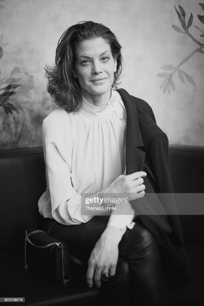 Marie Baeumer Portraits - 68th Berlinale International Film Festival : News Photo