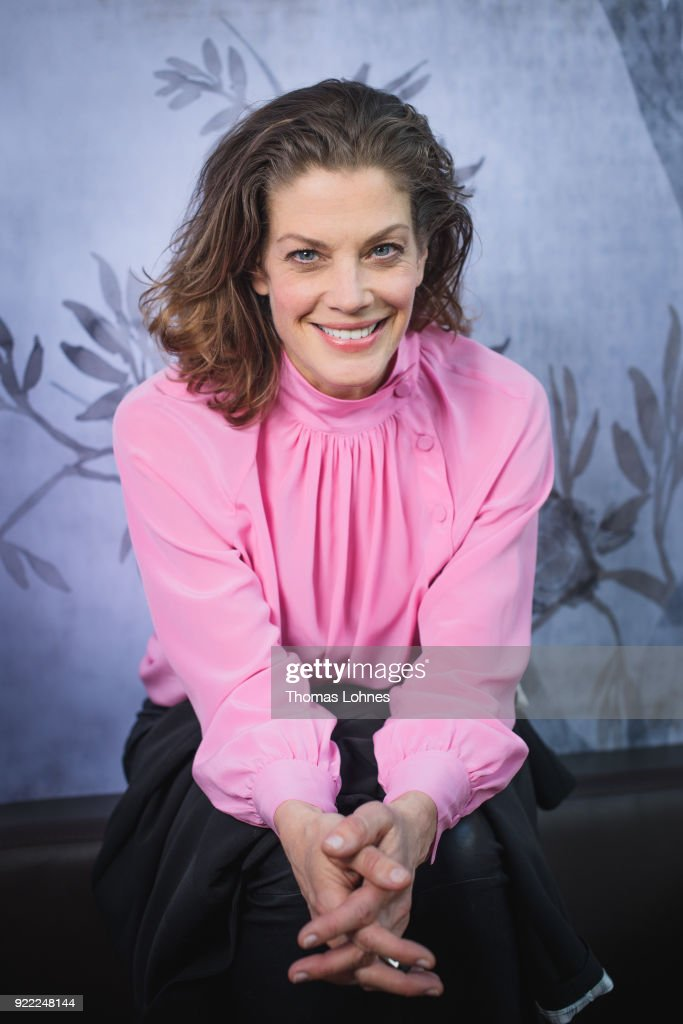 Marie Baeumer Portraits - 68th Berlinale International Film Festival