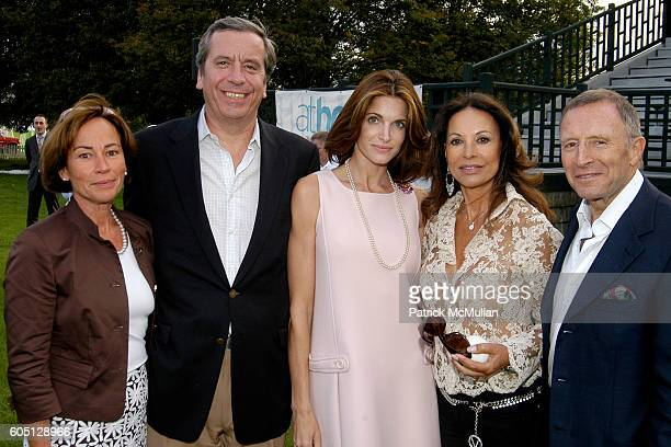 Marie Barguirdjian Henri Barguirdjian Stephanie Seymour Brant Anne Marie Graff and Laurence Graff attend The GRAFF DIAMOND CUP Plays Host to the NYU...