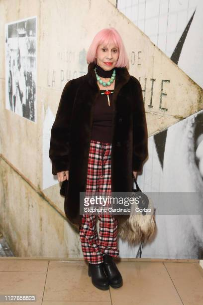 Marie Beltrami attends 'The Aspern Papers' Premiere at Maison Europeenne de la Photographie on February 05 2019 in Paris France