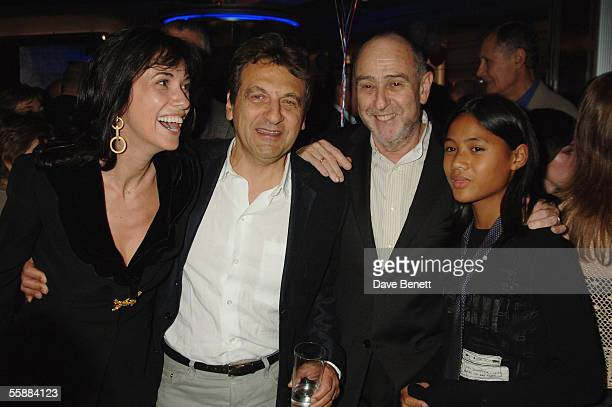 Marie BoublilAlain BoublilClaudeMichel Schonberg and daughter attend the 20th Anniversary Celebration of Les Miserables after party at the Prince of...