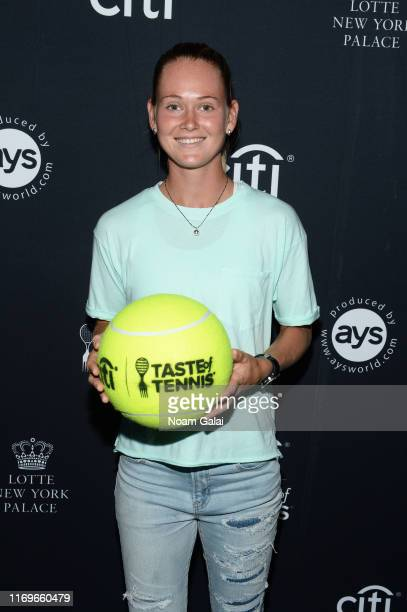 Marie Bouzková attends the Citi Taste Of Tennis on August 22 2019 in New York City