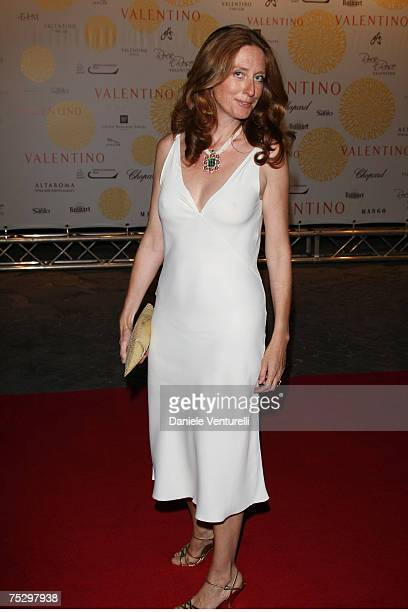 Marie Brandolini D'Adda arrives for the 'Valentino In Rome - 45 Years Of Style' Dinner at the Ari Paci on July 6, 2007 in Rome, Italy.