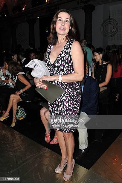 Marie Carmen Martinez Bordiu attends the Elie Saab HauteCouture show as part of Paris Fashion Week Fall / Winter 2012/13 at Pavillon Cambon Capucines...
