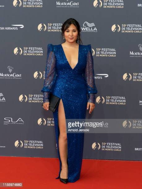 Marie Chevallier attends the opening ceremony of the 59th Monte Carlo TV Festival on June 14, 2019 in Monte-Carlo, Monaco.