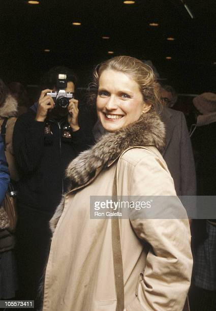 """Marie Christine Barrault during """"Heaven's Gate"""" New York City Premiere at Cinema 1 in New York City, New York, United States."""